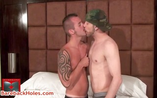 andre gets his astounding anal opening rimmed