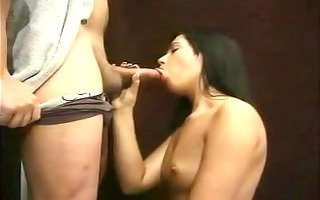 wife with longnails gives great bj & hj