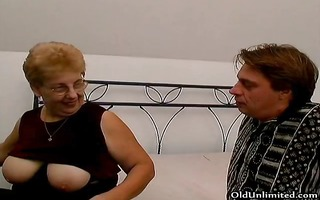 plump old mamma with large love melons t live