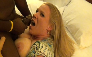 golden-haired mother i swallows biggest bbc load