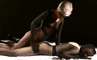 panty suits performed by girl2girl