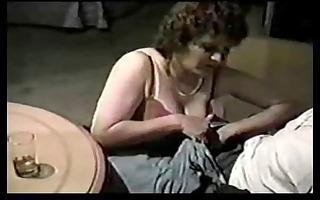 granny takes darksome cock. almost vintage