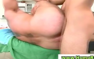 homo masseuse licking str guys spunk flow
