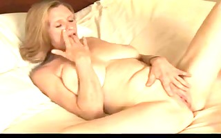 older plays with her fat moist love tunnel by troc