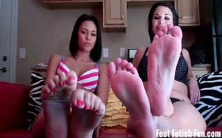 we have know you have a foot fetish and all cant