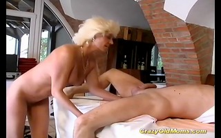 german mama enjoys her st anal sex