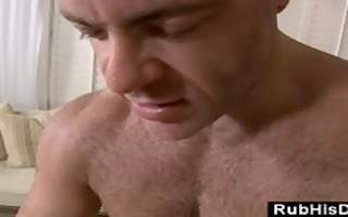 homo massage guy assfucks str client with sex-toy