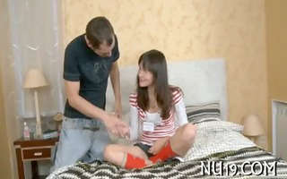 neat hottie acquires nailed doggy style