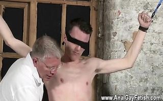 hawt gay sean mckenzie is tied up and at the