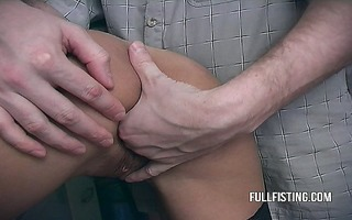 wife greatly lascivious wish to get fisted