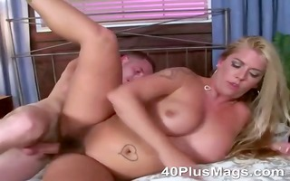 beverly is a sexually excited hirsute blond whore