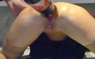 video of a granny doing insane anal