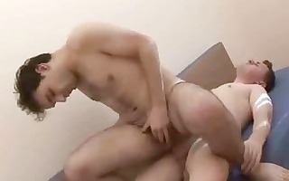 sexy homo load oozing