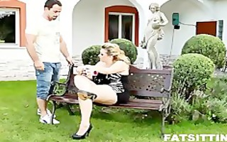 marvelous breasty fat kristy dominating and