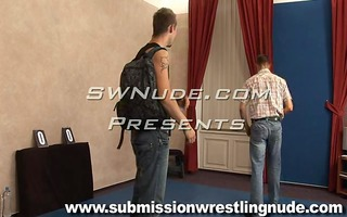 most good bare male wrestling matches