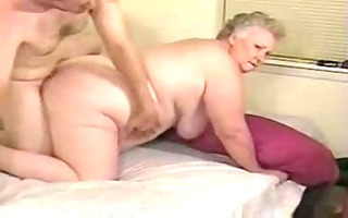 concupiscent granny paid to fuck with younger