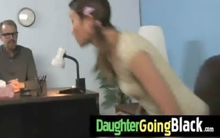 just watching my daughter fucking a darksome wang