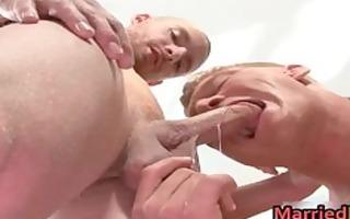 super hawt married men in homosexual gazoo fuck