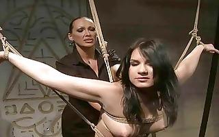 femdom-goddess dominating hot slavegirl