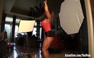 aziani metallic aged bodybuilder dd working out