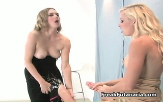 horny girl played hard with the massive part10