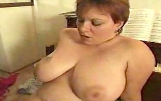 big aged lady receives screwed at piano lesson