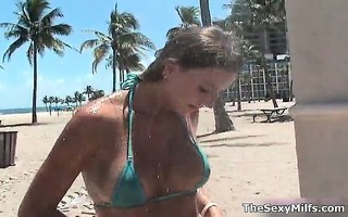 marvelous golden-haired and dark brown milfs part7