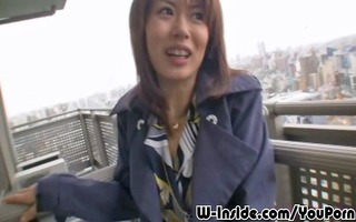 outdoors japanese oral sex
