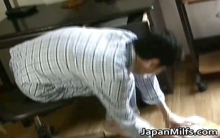 sexually excited japanese milfs engulfing and