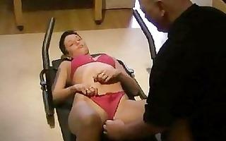 bizarre wife fist fucking exercise regime