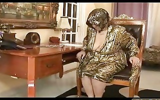 very old granny acquires drilled by punk