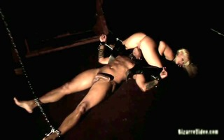 darksome fellow acquires dominated by a blond