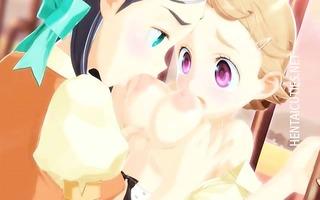 breasty 5d anime lesbian babes kiss