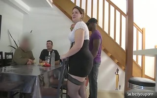 claire a french big beautiful woman wife