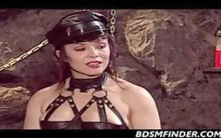 femdom spanks her submissive