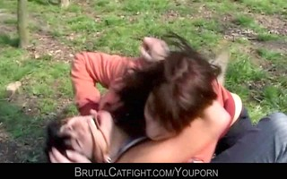 immoral landlord made girl fighting