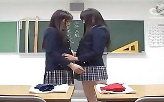 japanese school lesbos spanked