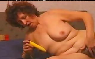 unshaved mature loves her toy aged older porn