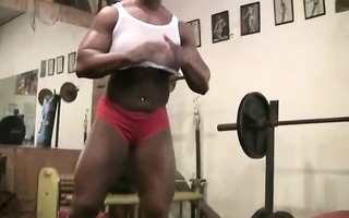 carmella cureton works out