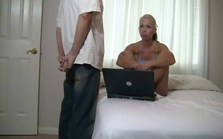 daddy teaches daughter about oral sex