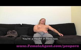 femaleagent. large guns casting