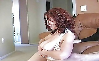 teasing redhead d like to fuck with glasses and