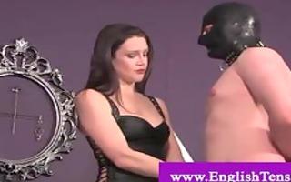 domina tying up her servants weenie
