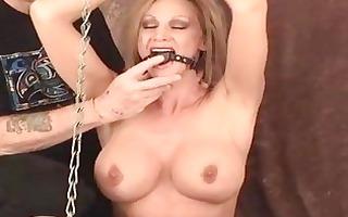 erotic thraldom and ballgagged domination of