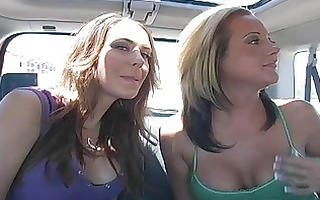 astounding superb lesbo beauties talking and