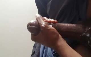 rubbing one out