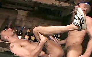 gay guys toying with their balls
