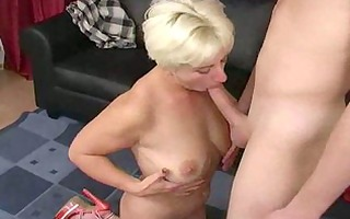 lascivious blonde aged mother i