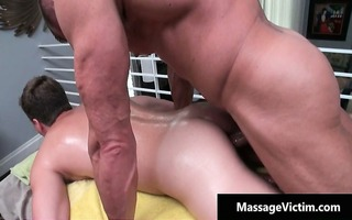hot oily massage makes this homosexual