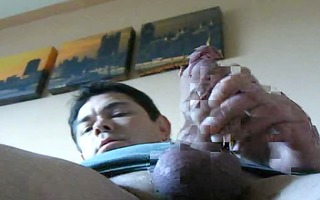take up with the tongue the cum off my cock